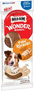 Milk-Bone Wonder Bones Paw Rockers Dog Treats, Long Lasting