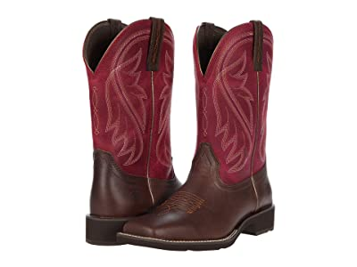 Ariat Azalea (Chocolate/Cabernet) Cowboy Boots