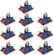 DAOKI 10PCS MOSFET Button IRF520 MOSFET Driver Module 3.3V-5V Power for Arduino MCU ARM Raspberry pi