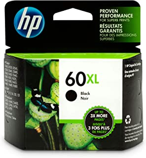 Best hp 60xl black ink cartridge cc641w Reviews