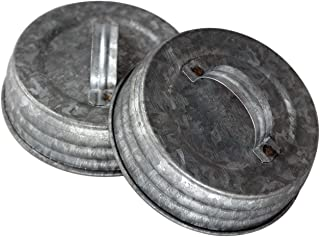 galvanized jar lids