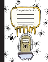 Composition Book 100 Sheet/200 Pages 8.5 X 11 In.-Wide Ruled- Beware of Spiders: Halloween Notebook for Kids - Student Jou...