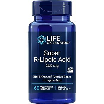 Life Extension Super R-Lipoic Acid, 240mg, 60-Count
