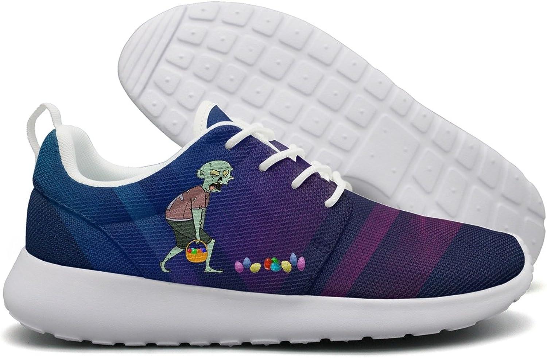 Zombie Happy Easter Egg Hunt Womens Flex Mesh Women Casual shoes