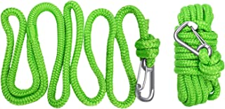 ACY Marine Green Floating Polypropylene Dock line Provide The Stainless Snap Hook and Incredible 12