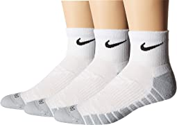 Dry Cushion Quarter Training Socks 3-Pair Pack