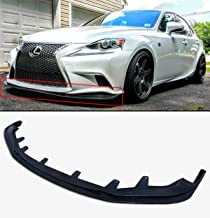 Fits for 2014-2016 LEXUS IS250 IS350 IS200T F-Sport Style JDM Front Bumper Lip Splitter