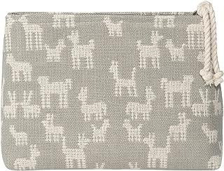 Danica Studio Woven Cosmetic Bag, Small, Animal Pack