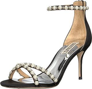 Badgley Mischka Women's Hannah Imitation Pearl Sandals