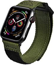 MOFREE Bands Compatible with 44mm Apple Watch Band 42mm Nylon , Soft Breathable Woven Loop Sport Strap Wristband Replaceme...