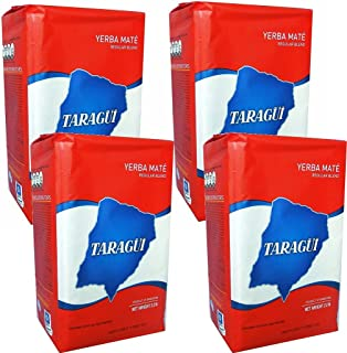 Taragui Yerba Mate with Stems 1 kg (2.2 lbs) 4 Pack
