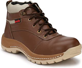 b69e36017f6 Brown Safety Shoes: Buy Brown Safety Shoes online at best prices in ...