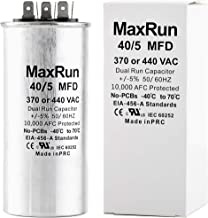 Best run capacitor for air compressor Reviews
