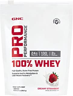 GNC Pro Performance 100 Whey - Creamy Strawberry