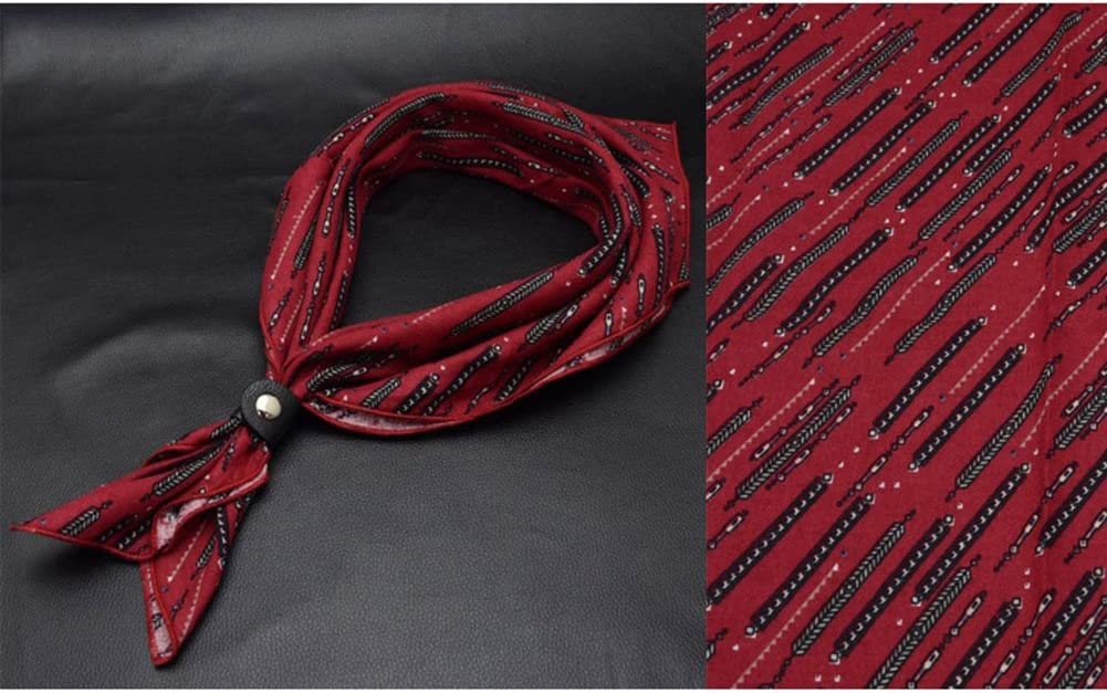 LIANGJUN Necktie Cotton Cravat Elegent Men Scarf Office Formal Occasions Wedding Shirt, 19 Types Available, 60X60cm (Color : 8#)