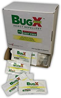 BugXFree Insect Repellent Towelettes DEET-Free (50)