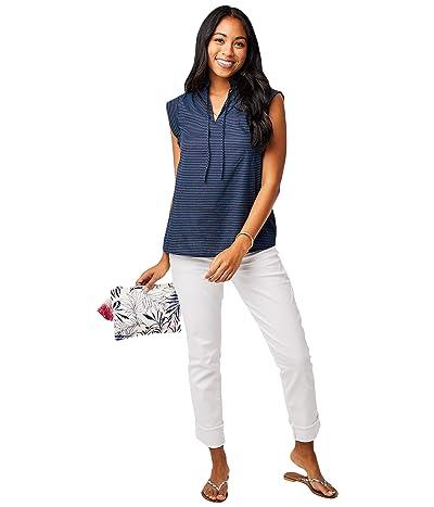 Carve Designs Larkin Shirt (Navy Bayside) Women