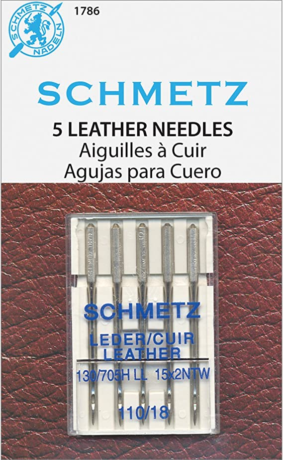 Schmetz Leather Machine Needle - Size 18/110