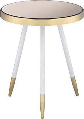 Ren-Wil 105440 Angelo Accent Table Antique Brass