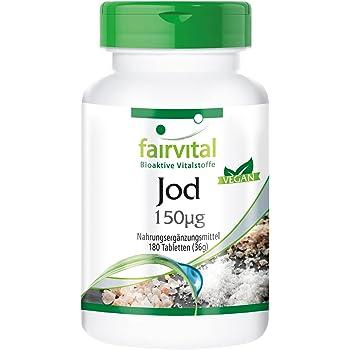 BIO Yodo Natural Vegavero® 150 mcg (100% NRV) | PureSea ...