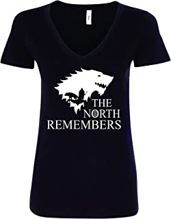 The North Remembers Winterfell Women's V-Neck Shirt