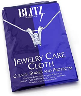 Extra Large 2-Ply Jewelry Care Cloth, Used by Professionals! Cleans, Shines and Protects! for Gold, Silver, and Platinum. 12