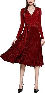 full sleeve midi dress