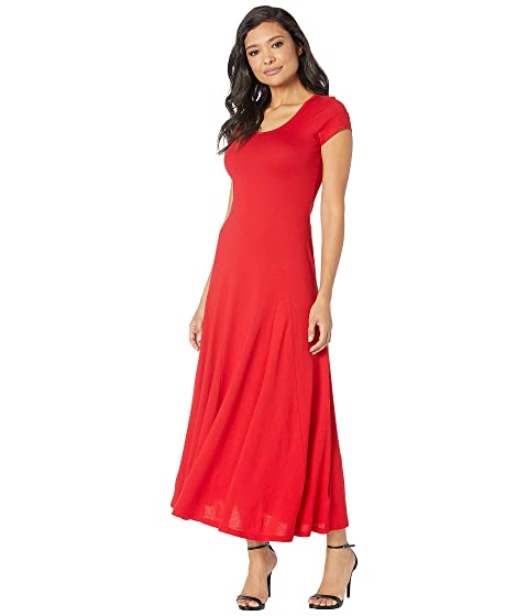20dee1ce9d5 LAUREN Ralph Lauren Jersey Scoop Neck Maxi Dress at Zappos.com