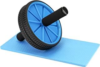 REEHUT Ab Wheel Fitness Equipment Ab Roller Wheel for Core Exercise - Dual Wheels and Foam Handles - Abdominal Workout