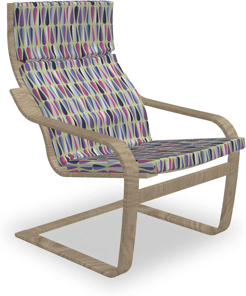 Ambesonne online shop Retro Armchair Pad and Slipcover Seasonal Wrap Introduction Nostalgic Orn Themed