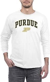 Elite Fan Shop NCAA Men's Long Sleeve Shirt White Arch