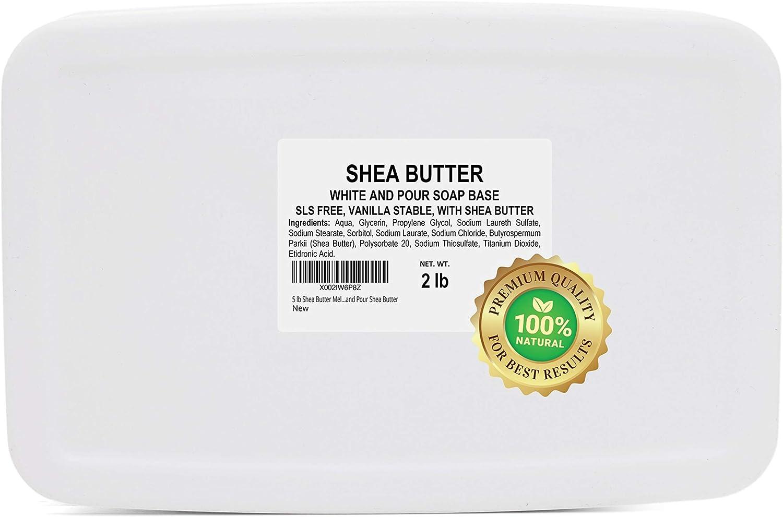 favorite 2 lb Shea Butter Soap Base and Mesa Mall Melt Pour Bu for Making