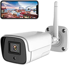 WiFi Outdoor Security Camera, 1080P 2MP Onvif Wireless IP Camera, Bullet Surveillance CCTV System for Smart Home, Night Vi...