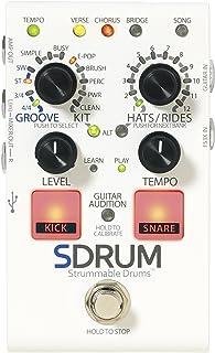 Digitech 056591 - Pedal de efectos caja de ritmos