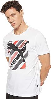 Puma Men's Cat Brand Graphic T-Shirt