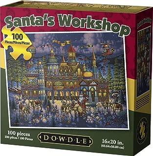 Dowdle Jigsaw Puzzle - Santa's Workshop - 100 Piece