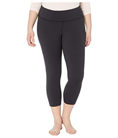 The North Face Plus Size Motivation High-Rise Crop (TNF Black) Women