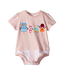 Short Sleeve Bodysuit w/ Ice Cream Design (Infant)