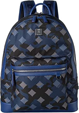 Dieter Munich Lion Camo Nylon Backpack 40