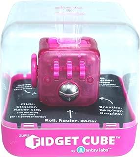 Zuru Fidget Cube by Antsy Labs - Custom Series (Solid Pink Switch) Hot Pink Fidget Cube