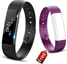 Molorical Fitness Tracker Watch, Smart Band with Step Pedometer, Bluetooth Bracelet Activity Tracker/Sleep Monitor, Calories Track Waterproof Health for iPhone & Android Phones, UP1