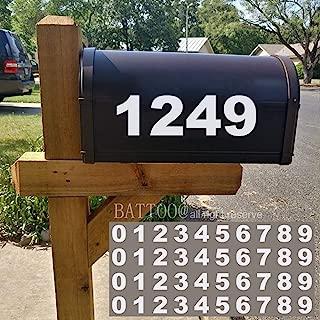Best mailbox number decals Reviews