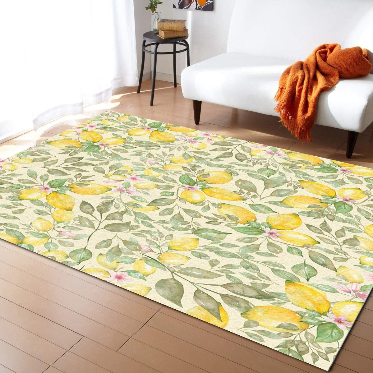Some reservation Large Rectangle Area Rugs Shape Durable Pile Low x 3' Max 83% OFF 2' Waterc