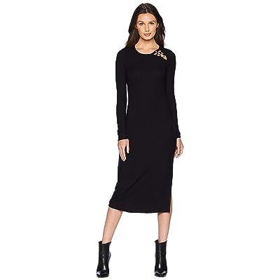 Paige Caelan Dress (Black) Women