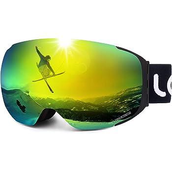 LEMEGO Skibrille Ski Goggles Snowboardbrille Doppel Objektiv ELLzc