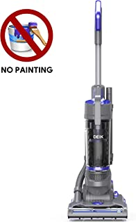 Deik Bagless Upright Vacuum Cleaner 11 Lbs Lightweight, 9 Amps Superpower, HEPA Filtration, Free of Setup for Carpets, Rugs, Tiles and Wood Floors