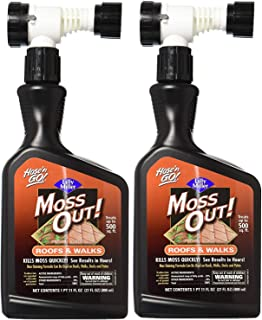 Lilly Miller Moss Out Roofs Walks Ready To Spray 27oz (2-(Pack))