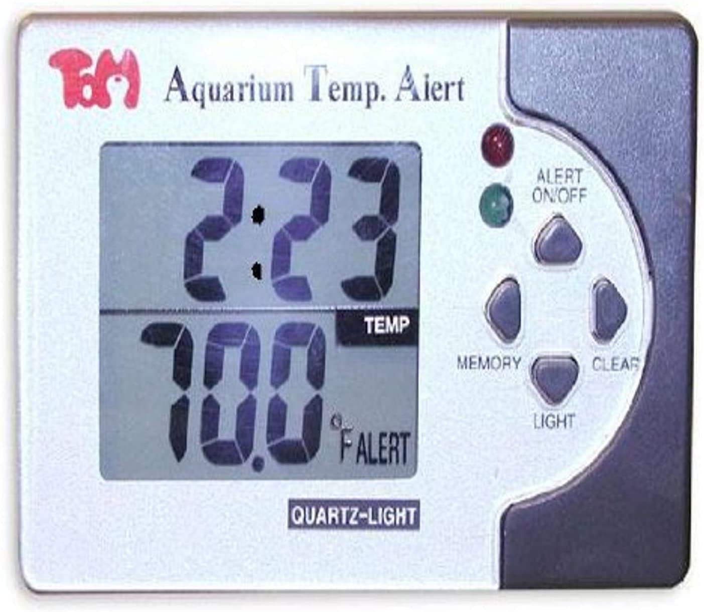 KollerCraft TOM Temp Alert Digital Limited time cheap sale Manufacturer direct delivery Aquariums Thermometer for