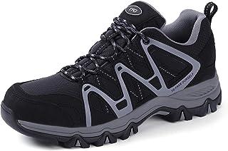 TFO Women's Lightweight Breathable Non-Slip Hiking Running Shoe Athletic Outdoor Walking Trekking Sneaker Black