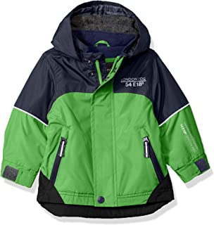 London Fog Baby Boys Midweight Water Resistant Hooded Jacket